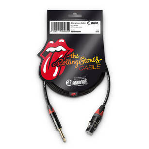 Adam Hall The Rolling Stones® Kabel mikrofonowy Jack - XLR 3pin 3m